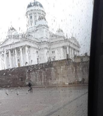 Regen in Helsinki