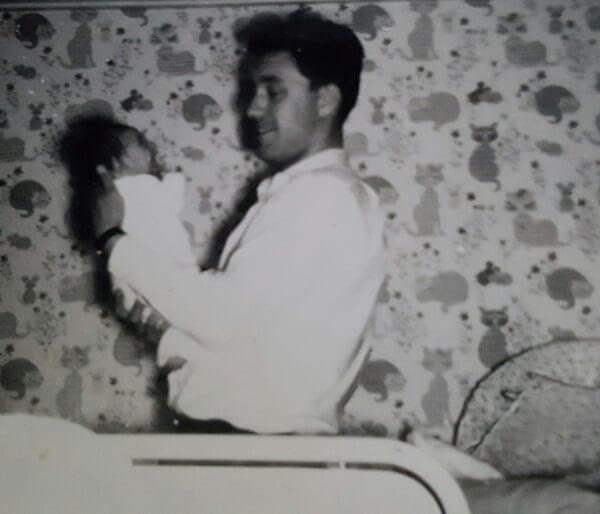 Pappa Otter en mini me